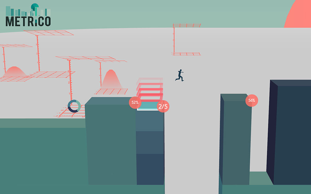 Metrico In-game
